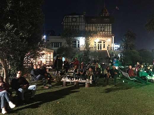 El público disfrutando a Bastión y la Fiesta de la Cerveza (22/03/2019)